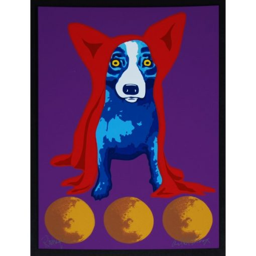 blue with red hoodie 3 moons