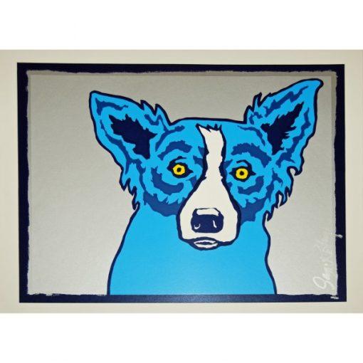 blue dog silver
