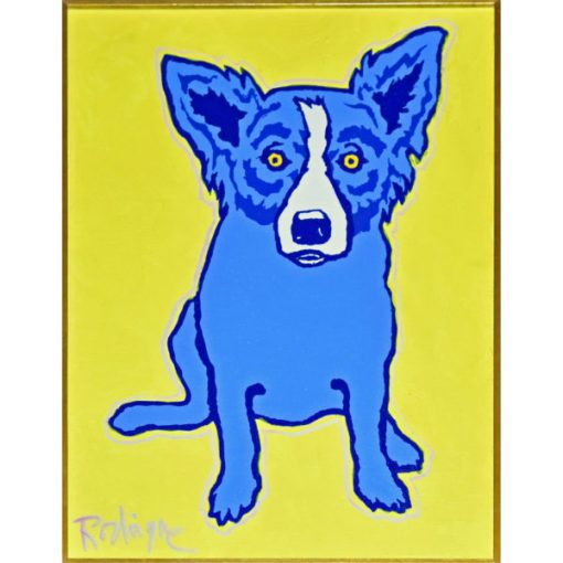 blue dog yellow aurora